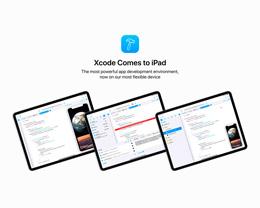 概念设计:当 Xcode 登陆 iPad