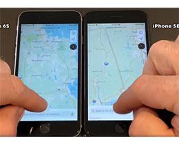 新 iPhone SE 速度实测对比:明显比 6s 快,与 7 没太大区别