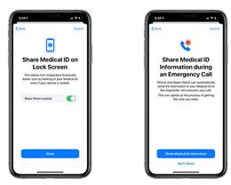 iOS 新健康功能能向急救服务机构自动发送用户医疗信息