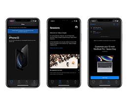 苹果 Apple Store 应用新增支持 iOS 13 深色模式
