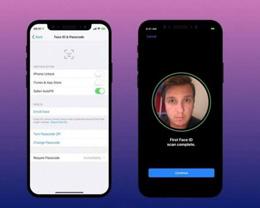 iOS 13.5 在优化 Face ID 后,戴口罩解锁 iPhone 更方便吗?