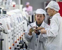 苹果主要代工合作伙伴富士康今年第一季度利润大跌 90%