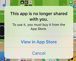 """iOS 13.5 打开应用提示""""此应用程序不再与您共享""""怎么办?"""
