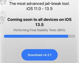 iOS 13.5 越狱工具 unc0ver 5.0.0发布,所有设备和版本越狱