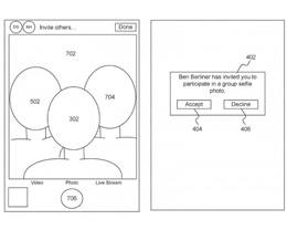 苹果获新专利,可实现远距离「合成集体自拍」