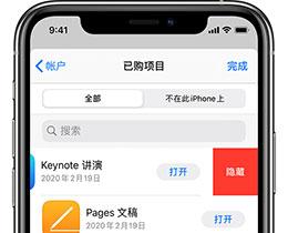 如何在 iPhone 上隐藏 App Store 购买项目?