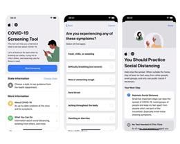 苹果更新 COVID-19 筛查工具,可让用户匿名与卫生部门通报健康状况