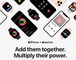 苹果官网新页面:iPhone + Apple Watch = 能力翻倍