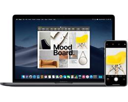如何在 Mac 上使用 iPhone 或 iPad 的相机?