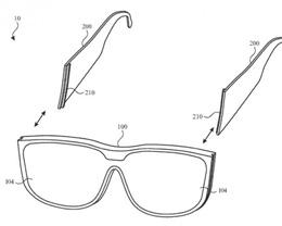苹果新专利:模块化框架部件让 Apple Glass 能实现功能扩展