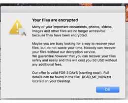 盗版 Mac 软件中发现最新勒索软件 EvilQuest