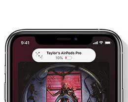 iOS 14 新功能:让用户了解 iPhone 可穿戴配件的电量状况