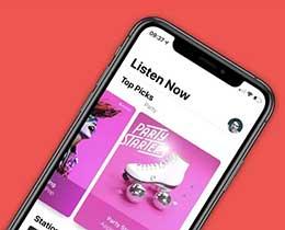 苹果在 iOS 14 中为 Apple Music 播放列表加入全新动态效果