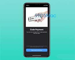 Apple Pay 迎来新变化:iOS 14 测试版出现二维码支付界面