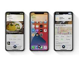 iOS 14 新变化:更聪明的 Siri