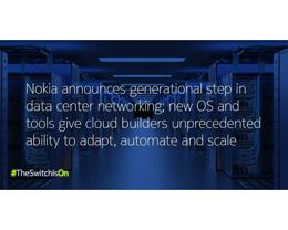 诺基亚推出网络操作系统 NOS ,苹果云数据中心部署采用