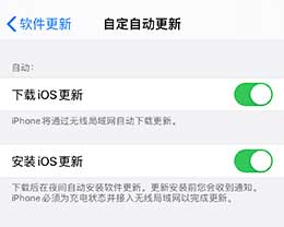 iOS 13.6 正式版新增设置:可关闭自动下载 iOS 更新包