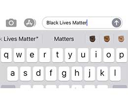 苹果 iOS 输入法新增黑人人权 emoji:标志性举拳头