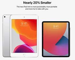 苹果新 iPad mini 概念设计:采用 Face ID,尺寸小 20%