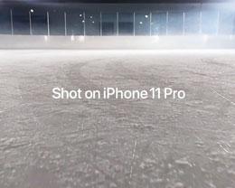 iPhone 11 Pro 拍摄新的「冰球带」广告,标志着 NHL 的回归