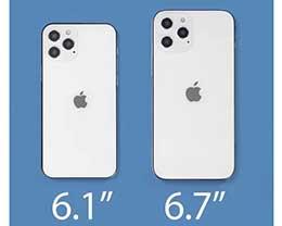 苹果 iPhone 12 发布可能分两个阶段,6.1'' 先到来