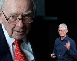 巴菲特依靠苹果股票在两年间获得 597 亿美元收益