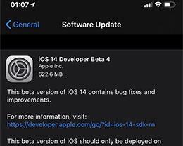 iOS 14 Beta 4更新了什么内容?如何升级iOS 14 Beta 4?