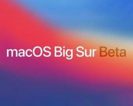 Apple 发布 macOS Big sur 第四个开发者预览版