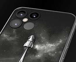 Caviar 推出 iPhone 12 Pro 马斯克限量版:背部镶真实火箭碎片
