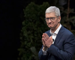 苹果 CEO Tim Cook 的资产超过 10 亿美元