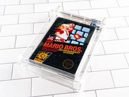 《超级马里奥兄弟》游戏卡带收藏品或将发行股票