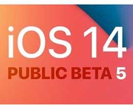 苹果发布 iOS 14/iPadOS 14 公测版 Beta 5