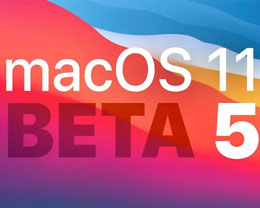 Apple 发布 macOS Big Sur 第五个开发者测试版