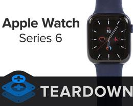 多图 |iFixit 拆解 Apple Watch Series 6:电池容量增加
