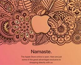 苹果今日正式在印度推出在线商店