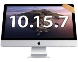 苹果发布 macOS Catalina 10.15.7