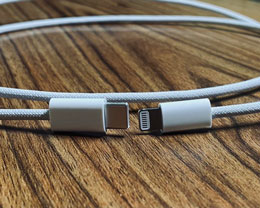 疑似 iPhone 12 编织 USB-C 至闪电线缆曝光