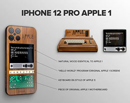 定制版 iPhone 12 Pro Apple 1 Edition 曝光:只有9台