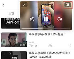 """如何使用 iOS 14 """"画中画""""功能?"""