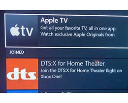苹果 Apple TV 应用即将登陆微软 Xbox