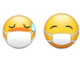 """苹果悄然调整 """"戴口罩的脸""""Emoji:使其更具亲和力"""