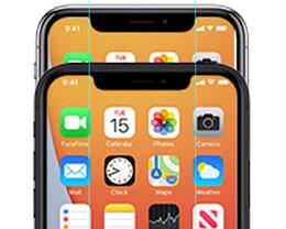 iPhone 12 图标出现在 iCloud 网站,刘海更窄
