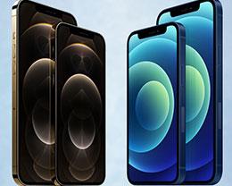 苹果 iPhone 12/mini/Pro/Pro Max 全系规格对比