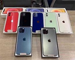 苹果 iPhone 12/Pro 多款配色真机照曝光