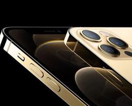 金色版 iPhone 12 Pro 采用特殊涂层工艺,不锈钢边框更耐指纹