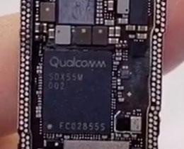 苹果 iPhone 12 使用高通 X55 基带芯片