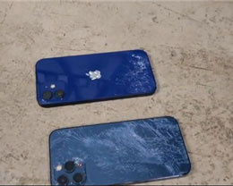iPhone 12 系列跌落测试:3 米高度正面不碎