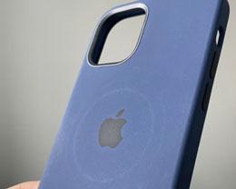 苹果警告称 MagSafe 充电器可能会在皮革保护壳上留下圆形印记