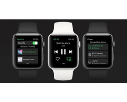 无需 iPhone,Spotify 现已支持在苹果 Apple Watch 独立播放