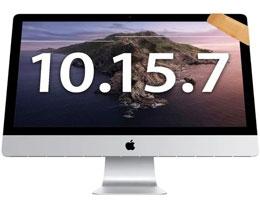 苹果发布 macOS Catalina 10.15.7 补充更新